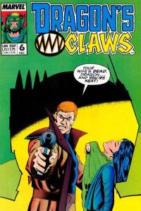 Dragon's Claws #6, VF+ (Stock photo)
