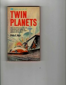 3 Books Twin Planets The Deadly Truth Half-Cracked Murder Mystery Humor JK28