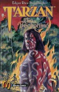 Tarzan: The Beckoning #5 FN; Malibu | save on shipping - details inside