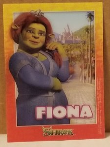 2007 Shrek Motion Card Fiona
