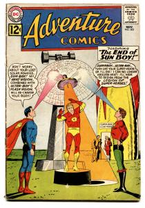 ADVENTURE  #302 comic book-1962-SUPERBOY-SUN BOY-SILVER AGE-DC