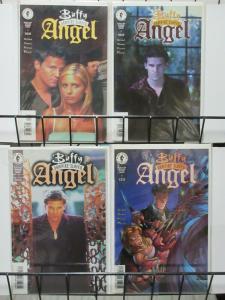 BUFFY THE VAMPIRE SLAYER: ANGEL (Dark Horse, 1999) #1-3 Photo Covers! VF-NM
