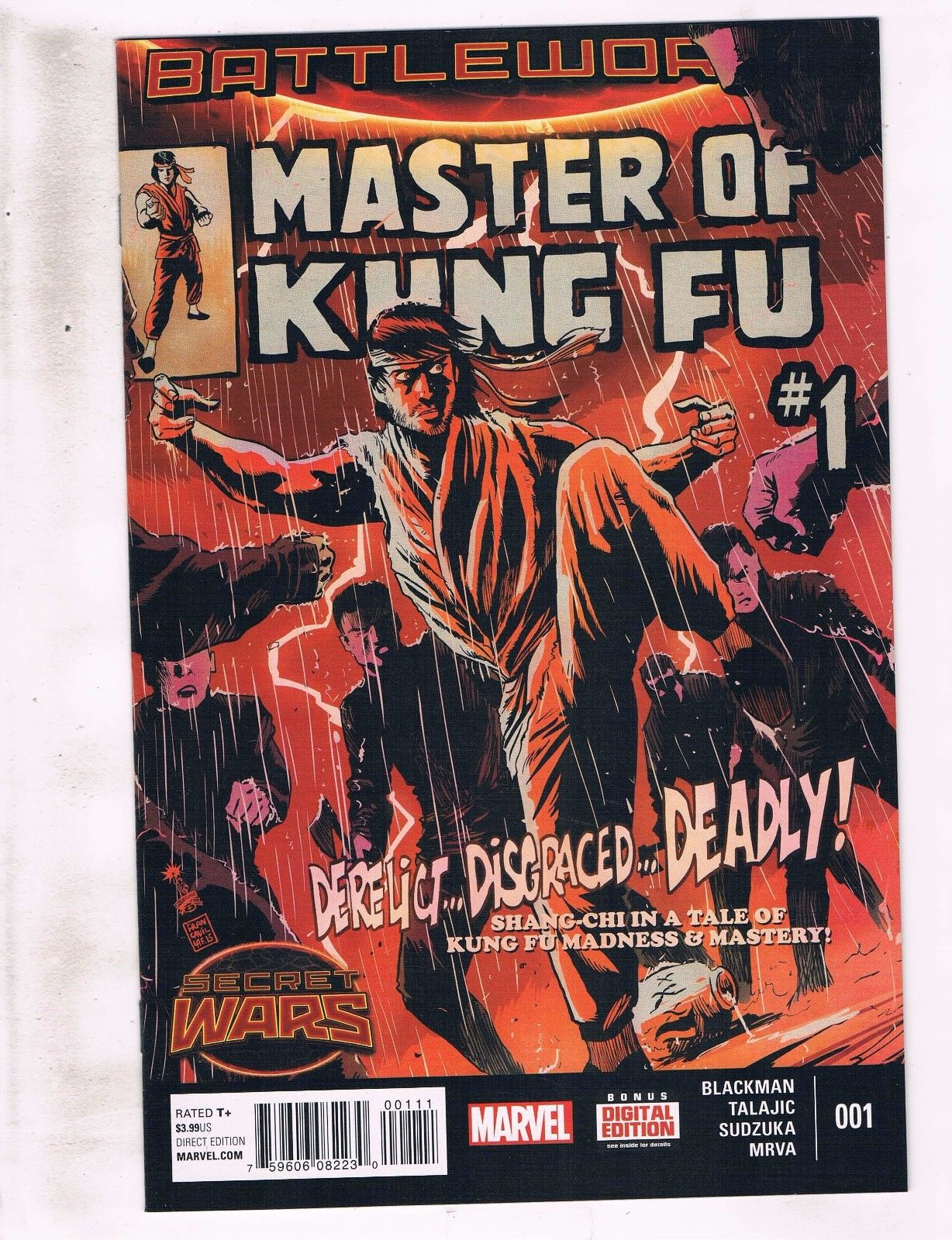 #4 2015 NM Stock Image Master of Kung Fu 2nd Series