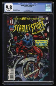 Scarlet Spider Unlimited #1 CGC NM/M 9.8 White Pages