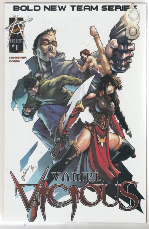 Vampi Vicious set #1to3 (Aug-03) NM Super-High-Grade Vampirella
