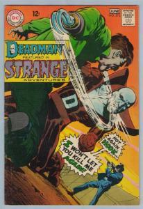 Strange Adventures 212 Jun 1968 FI (6.0)