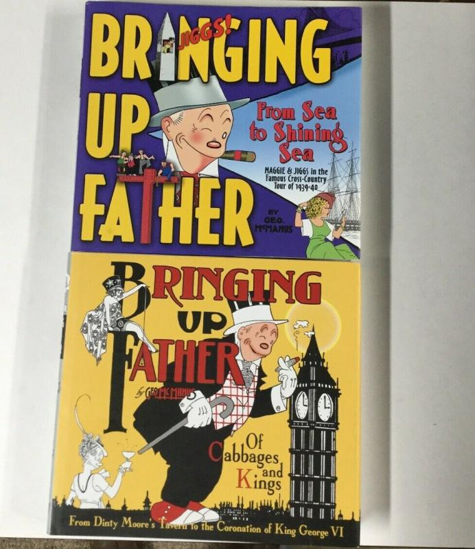 Brining up Father Volume 1 2 1937-1940 Hc Tpb Near Mint Idw Harcover B20