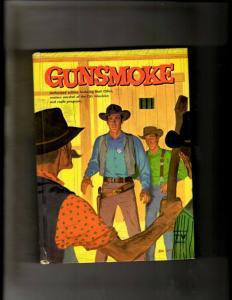 Gunsmoke 1587 Whitman Hardcover Book 1958 Columbia Radio Program CBS JL20