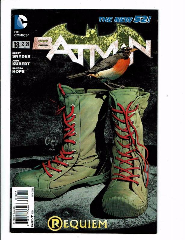 Batman # 18 VF/NM DC New 52 Comic Book 1st Print Batgirl Nightwing Catwoman J121