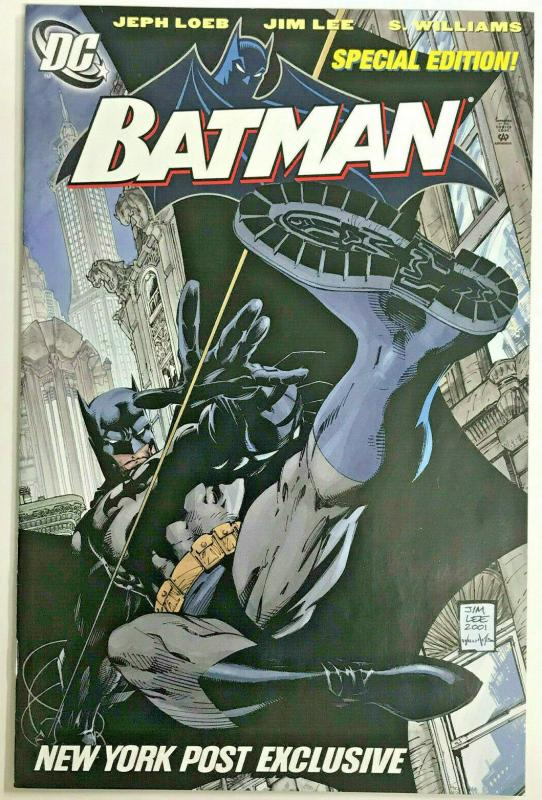 BATMAN#608 VF/NM 2002 NYP SPECIAL EDITION JIM LEE DCCOMICS