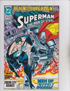 DC Comics! Superman! The Man of Steel! Issue 26!