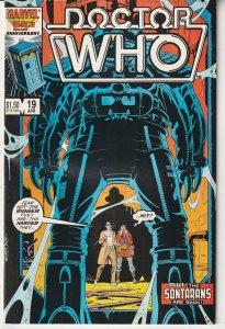 Doctor Who(Marvel) # 19  V For Vendetta's Alan Moore and David Lloyd