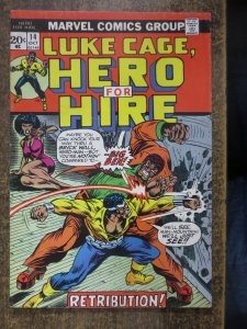 LUKE CAGE/POWER MAN 14  VG Oct. 1973 COMICS BOOK