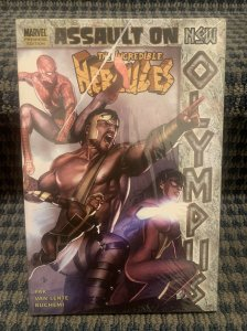 Marvel INCREDIBLE HERCULES Assault On New Olympus Graphic Novel *New Sealed D13