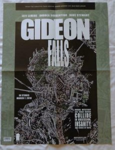 GIDEON FALLS  Promo poster, 18 x 24, 2018, IMAGE, Unused more in our store  015