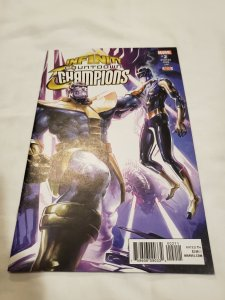Infinity Countdown Champions 2 Near Mint- Cover by Clayton Crain