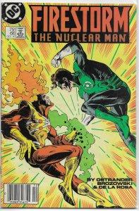 Firestorm: The Nuclear Man (vol. 1, 1982) # 66 GD Ostrander, Green Lantern