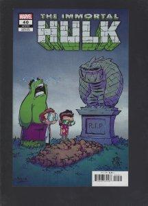 Immortal Hulk #40 Variant (2020)