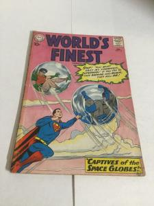 Worlds Finest 114 Gd Good 2.0 Tape On Spine DC Comics Silver Age