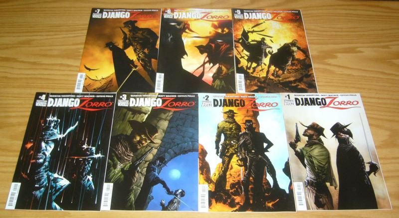 Django/Zorro #1-7 VF/NM complete series by quentin tarantino - A set by jae lee