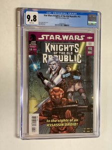 Star Wars Knights of the old Republic 13 cgc 9.8 wp dark horse