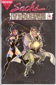 SACHS & VIOLENS (1993 EPIC) 1 F-VF PLATINUM Nov. 1993 COMICS BOOK