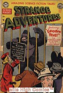 STRANGE ADVENTURES (1950 Series)  (DC) #8 Very Good Comics Book