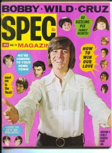 Spec #23 8/1970-16 Magazine-Dark Shadows-Bobby Sherman-Kurt Russell-Jackson 5...