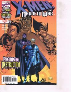 Lot Of 2 Marvel Comic Book X-Men Mangeto War #1 Astonishing #2  ON14