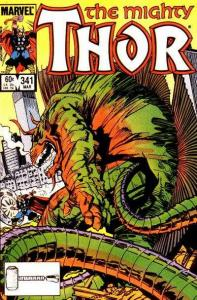 Thor (1966 series) #341, NM- (Stock photo)