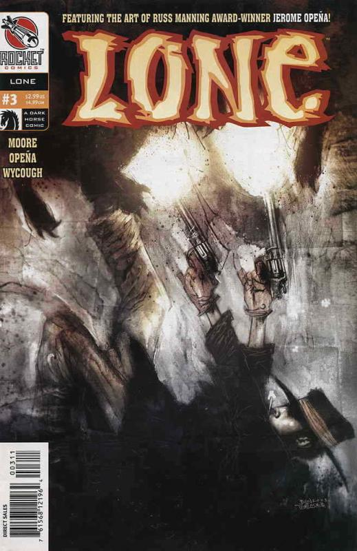 Lone #3 VF/NM; Dark Horse | save on shipping - details inside