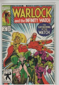 WARLOCK AND THE INFINITY WATCH (1991 MARVEL) #2 NM A11064