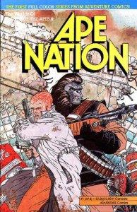 Ape Nation #1, VF+ (Stock photo)