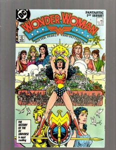 Wonder Woman # 1 NM DC Comic Book George Perez Cheetah Batman Flash Arrow SB5
