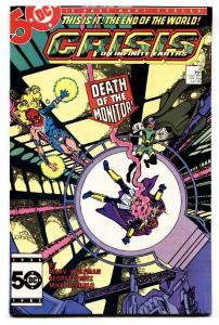 CRISIS ON INFINITE EARTHS #4 comic book 1985-DC Geoge Perez