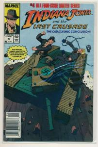 Marvel Indiana Jones and the Last Crusade #4, Final Issue 1989 ~  VF+ (PF561)
