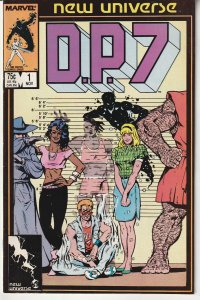 DP 7(New Universe) # 1  New Universe's Answer to X-Men
