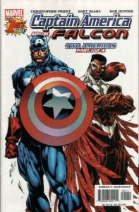 Captain America and the Falcon (2004 series) #1, NM (Stock photo)