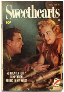 Sweethearts #93 1950- Golden Age Romance-Spring in My Heart VG