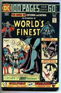 WORLD'S FINEST #228  comic book 1973 Superman, Batman, Aquaman-giant issue