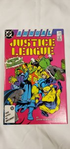 Justice League Annual #1 -VF - DC 1987