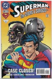 Superman   vol. 2   #104 FN Darkseid, Cyborg Superman