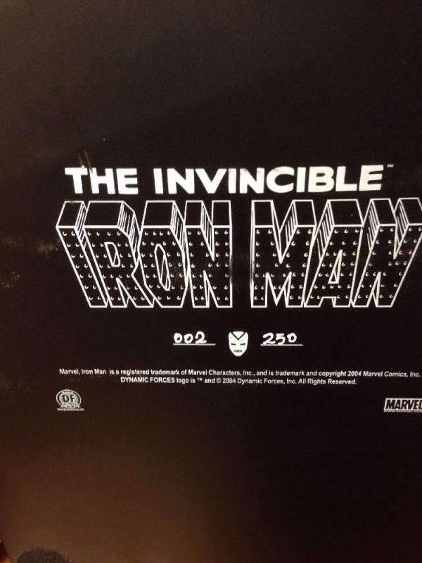 Iron Man By Alex Ross Edward Endres 2/250 Dynamic Forces