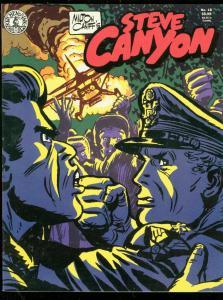 STEVE CANYON MAGAZINE #18 1987-MILTON CANIFF-N SICKLES VF