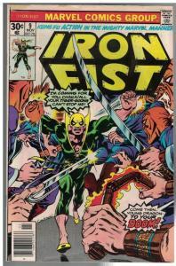 IRON FIST 9 VG Nov.  1976