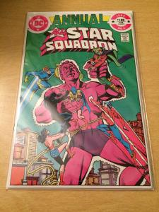 All-Star Squadron annual #1 mint condition