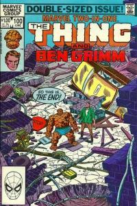 Marvel Two-In-One (1974 series) #100, VF- (Stock photo)