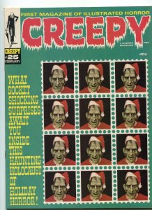 Creepy 25 FN/VF Warren Magazine