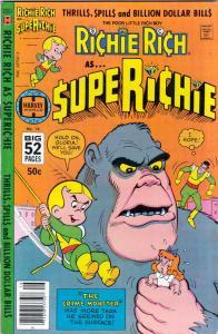Richie Rich As… Super Richie #16 (Sep-78) VF/NM High-Grade Richie Rich
