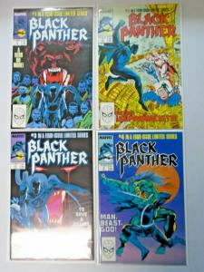 Black Panther set #1 to #4 Mini Series all 4 different books 8.5 VF+ (1988)